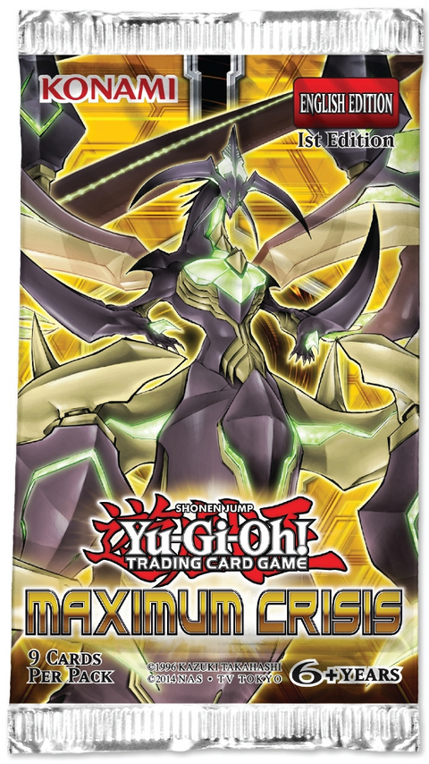 Yu-Gi-Oh! TCG Maximum Crisis Booster Pack-Cherry Collectables