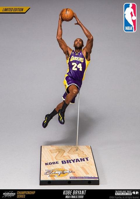 Mcfarlane Kobe Bryant NBA 2000 Championship Collector Figure (Pre Order Oct)-Cherry Collectables