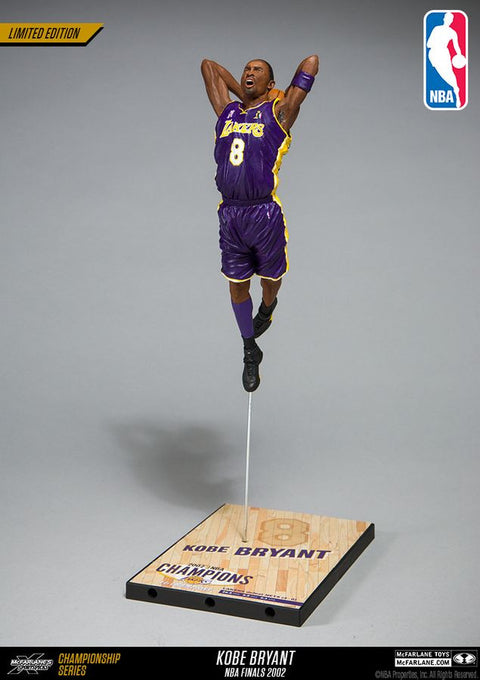 Mcfarlane Kobe Bryant NBA 2001 Championship Collector Figure (Pre Order Oct)-Cherry Collectables