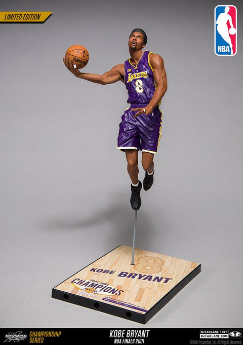 Mcfarlane Kobe Bryant NBA 2002 Championship Collector Figure (Pre Order Oct)-Cherry Collectables