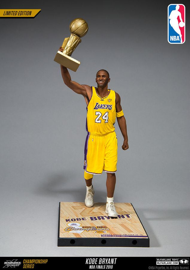 Mcfarlane Kobe Bryant NBA 2009 Championship Collector Figure-Cherry Collectables