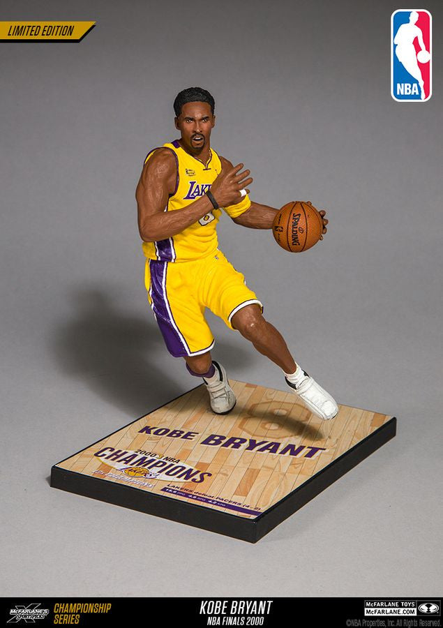 Mcfarlane Kobe Bryant NBA 2010 Championship Collector Figure-Cherry Collectables