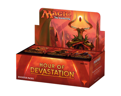 Magic the Gathering Hour Of Devastation Booster Box-Cherry Collectables