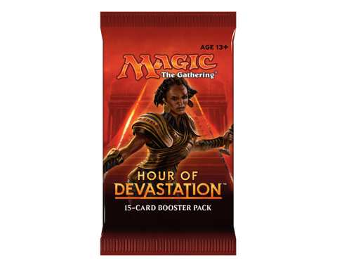 Magic the Gathering Hour Of Devastation Booster Pack-Cherry Collectables