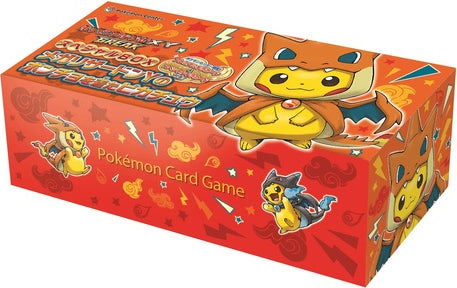 Pokemon TCG JAPANESE XY BREAK Wearing Poncho Pikachu Charizard Y Special Box