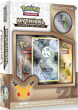 Mythical Pokemon Collection - Meloetta Pin Box - Cherry Collectables