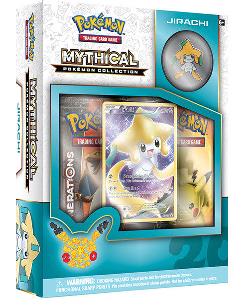 Mythical Pokemon Collection - Jirachi Pin Box-Cherry Collectables