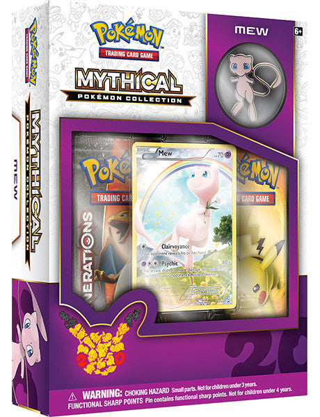 Mythical Pokemon Collection - Mew Pin Box-Cherry Collectables