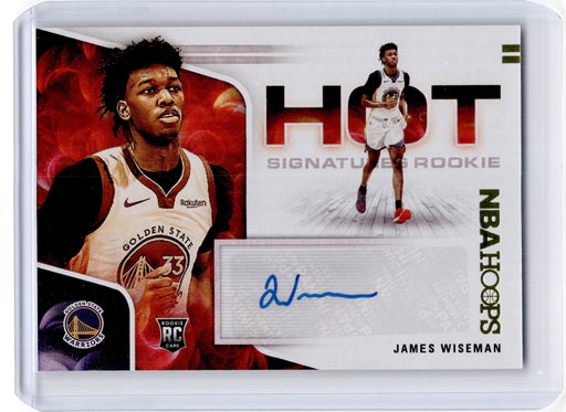 2020-21 Hoops JAMES WISEMAN Hot Signatures Rookie Auto #JWS-Cherry Collectables
