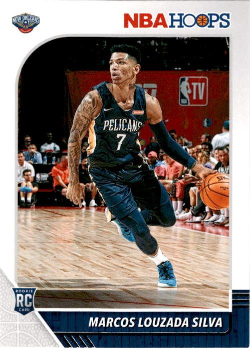 2019-20 Hoops MARCOS LOUZADA SILVA Rookie Base - #250-Cherry Collectables