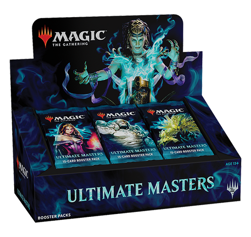 Magic the Gathering Ultimate Masters 2018 Booster Box-Cherry Collectables