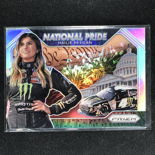 2020 Prizm Racing HAILIE DEEGAN National Pride Rookie Silver #15-Cherry Collectables