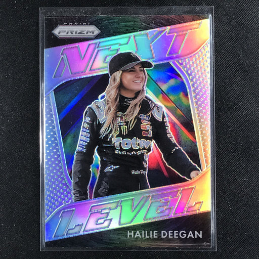 2020 Prizm Racing HAILIE DEEGAN Next Level Rookie Silver #10-Cherry Collectables