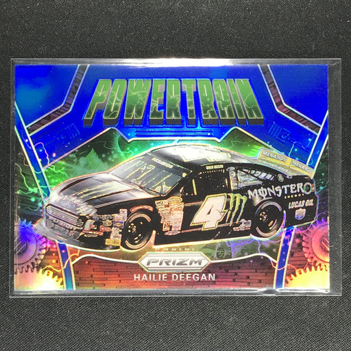 2020 Prizm Racing HAILIE DEEGAN Power Train Rookie Blue #90-Cherry Collectables