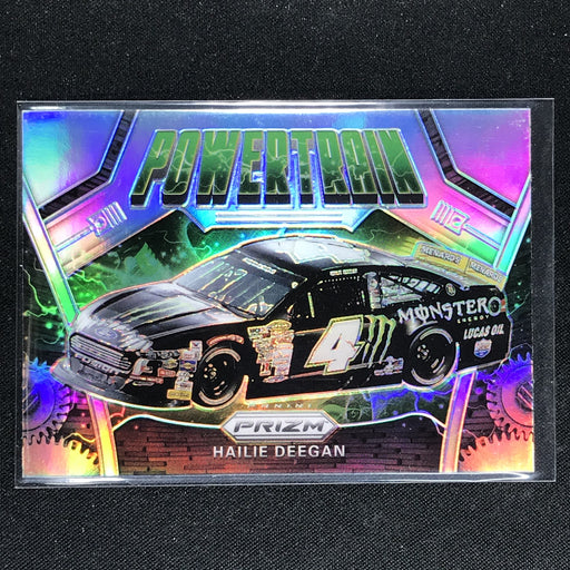 2020 Prizm Racing HAILIE DEEGAN Power Train Rookie Silver #90-Cherry Collectables