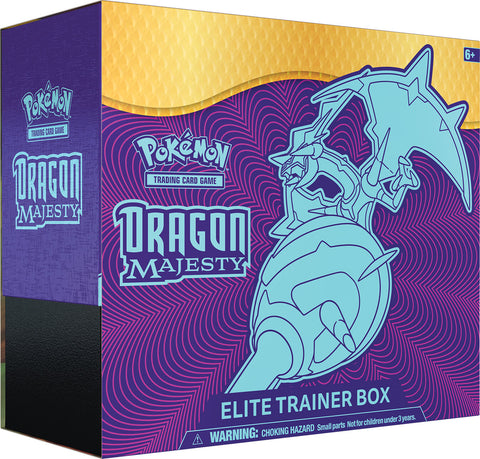 Pokemon TCG Elite Trainer Box - Dragon Majesty (Pre Order Sep)-Cherry Collectables