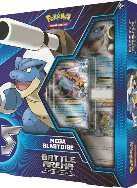 Pokemon Battle Arena Deck - Mega Blastoise (Pre Order Sep)-Cherry Collectables