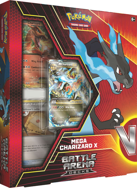 Pokemon Battle Arena Deck - Mega Charizard (Pre Order Sep)-Cherry Collectables