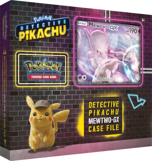 POKÉMON TCG Detective Pikachu Mewtwo GX Box (Pre Order Apr 26)-Cherry Collectables