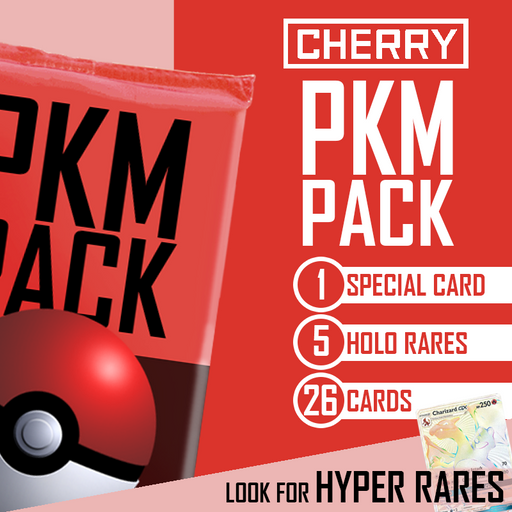 PKM PACK - Pokemon Special 26-Card Mystery Pack - Look For Hyper Rares!-Cherry Collectables