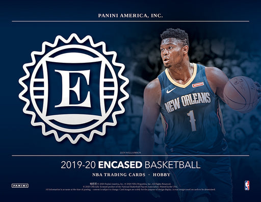 19-20 Encased NBA 2-Box Break #0189 - Random Team - Sep 30 (Night)-Cherry Collectables