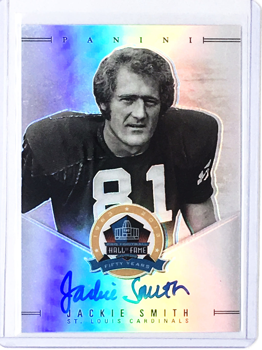 2013 National Treasures JACKIE SMITH Hall of Fame Fifty Years Auto SSP - Cherry Collectables