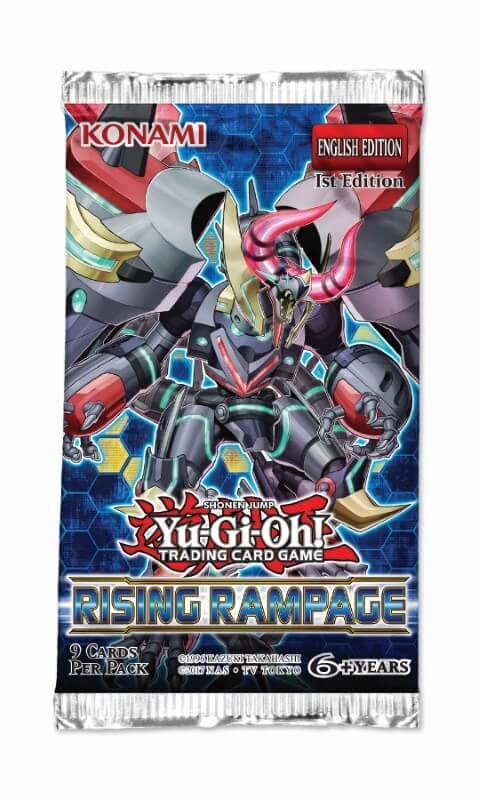 YU-GI-OH! TCG Rising Rampage 1st Edition Booster Pack-Cherry Collectables
