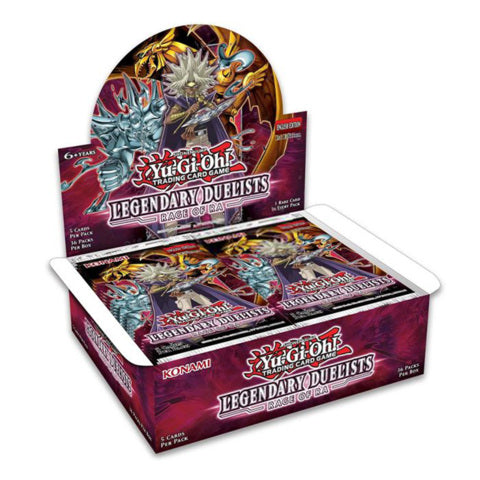YU-GI-OH! TCG Legendary Duelists 7: Rage of Ra Booster Box (Pre Order Sept 24)-Cherry Collectables
