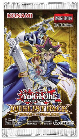 YU-GI-OH! Rivals of the Pharaoh Duelist Pack Blister Pack - Cherry Collectables
