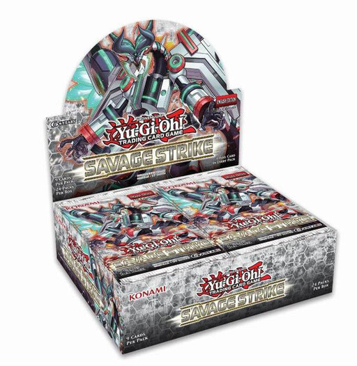 Yu-Gi-Oh! TCG Savage Strike Booster Box-Cherry Collectables