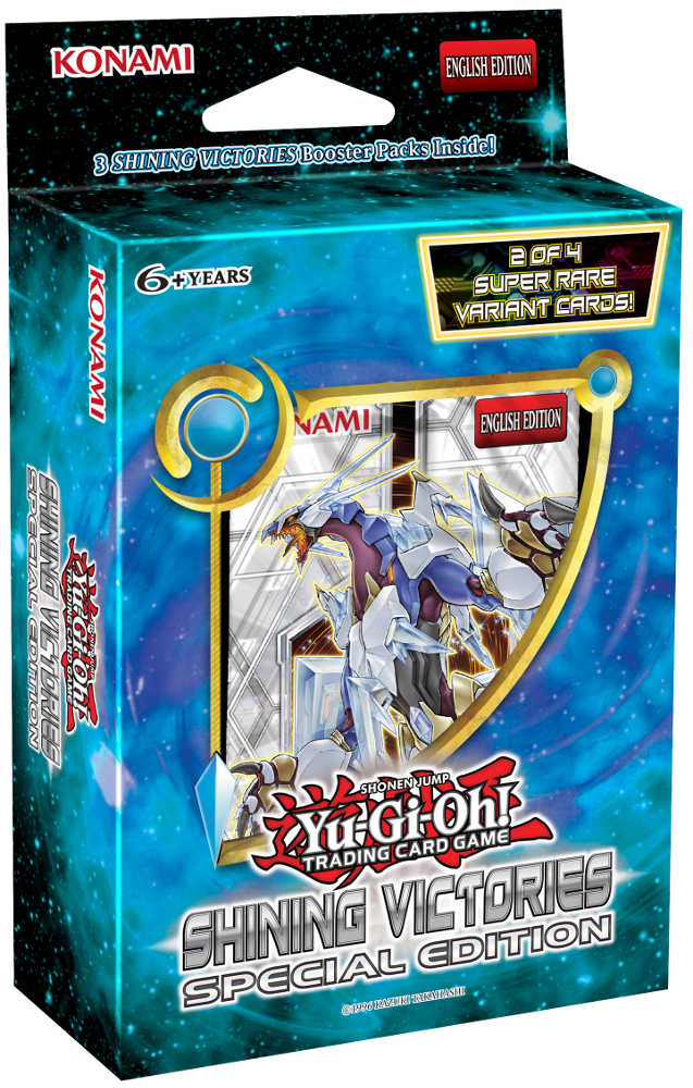 Yu-Gi-Oh! Shining Victories Special Edition Pack-Cherry Collectables