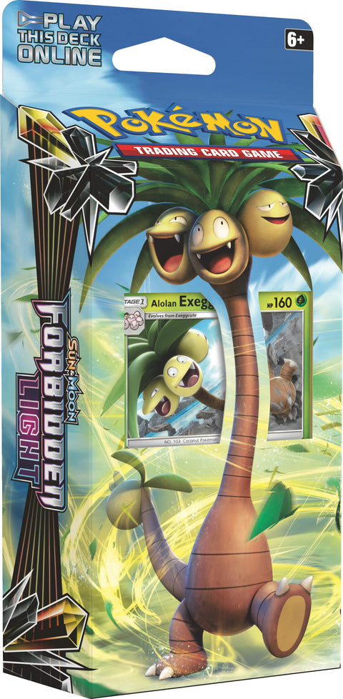 Pokemon TCG Sun & Moon Forbidden Light Theme Deck - Alolan Exeggutor-Cherry Collectables