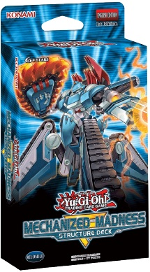 Yu-Gi-Oh! Mechanized Madness Structure Deck 3-Deck Combo (Pre Order Apr 16)-Cherry Collectables