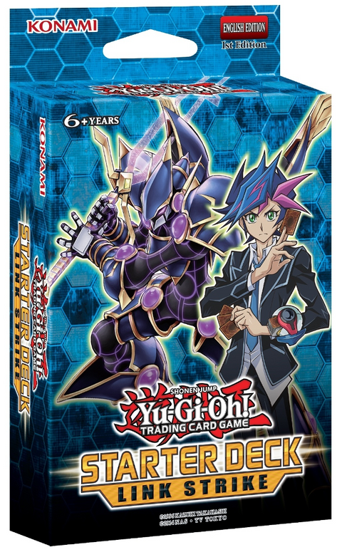 Yu-Gi-Oh! 2017 Starter Deck - Link Strike 3-Deck Combo-Cherry Collectables