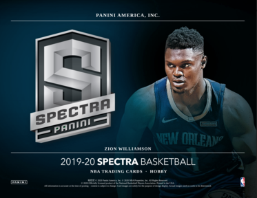 19-20 Panini Spectra Basketball 1-Box Break #13 (Win Pelicans) - Team Based - Jul 2 (Night)-Cherry Collectables