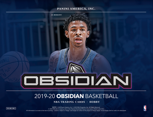2019-20 Panini Obsidian Basketball Hobby Box (Pre Order Jul 15)-Cherry Collectables