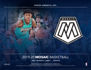 MOSAIC OF MOSAIC - 19-20 Panini Mosaic Basketball 3-Box Break #4 ft. Hobby, Choice + Fast Break - Random Team - May 28-Cherry Collectables