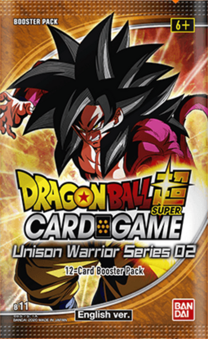 Dragon Ball Super TCG Unison Warrior Series Set 2 Booster Box B11 (Pre Order Oct 9)-Cherry Collectables