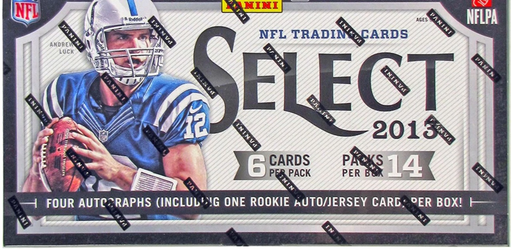 2013 Panini Select Football Hobby Box-Cherry Collectables