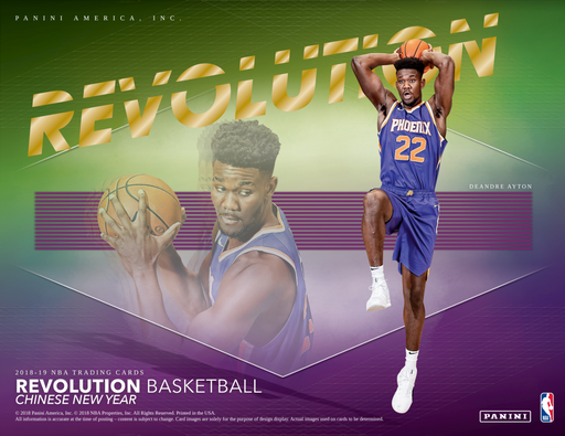 2018-19 Panini Revolution Basketball Chinese New Year 12-Pack 8-Box Case (Pre Order Dec 14)-Cherry Collectables
