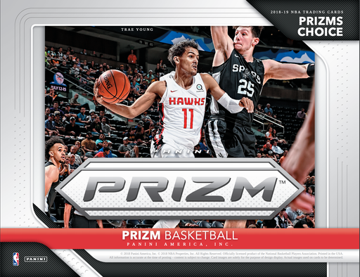 2018-19 Panini Prizm Basketball Choice 20-Box Case-Cherry Collectables