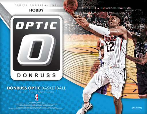 2018-19 Panini Donruss Optic Basketball Hobby Box (Pre Order Jan 30)-Cherry Collectables