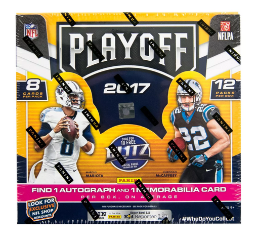 2017 Panini Playoff Football Hobby Box-Cherry Collectables