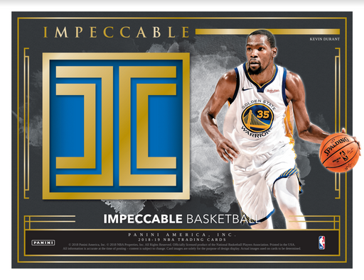 2018-19 Panini Impeccable Basketball Hobby Box (Pre Order Feb 20)-Cherry Collectables