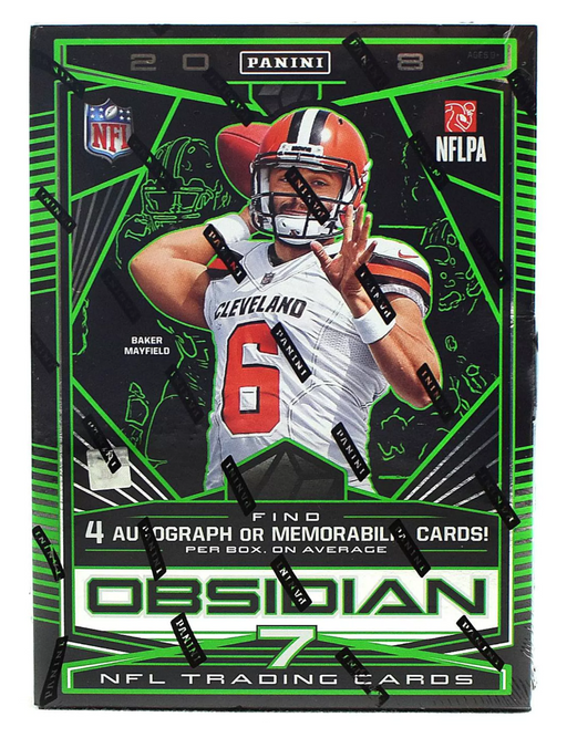 2018 Panini Obsidian Football Hobby Box-Cherry Collectables