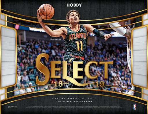 2018-19 Panini Select Basketball Hobby 12-Box Case-Cherry Collectables