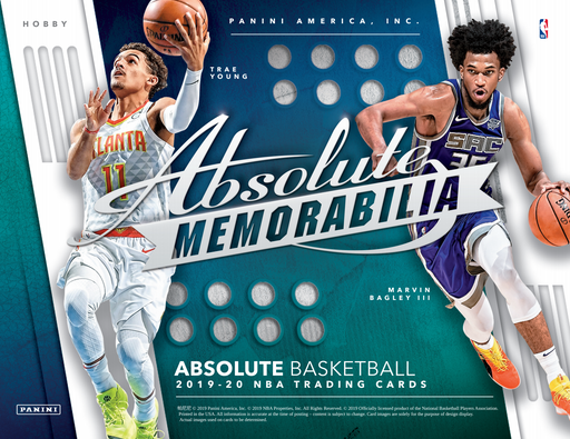 2019-20 Panini Absolute Basketball Hobby Pack (Pre Order Nov 27)-Cherry Collectables