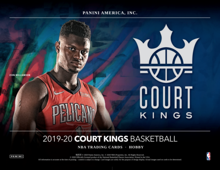 19-20 Court Kings NBA 3-Box Break #0315 - Random Team - Jul 10 (Night)-Cherry Collectables