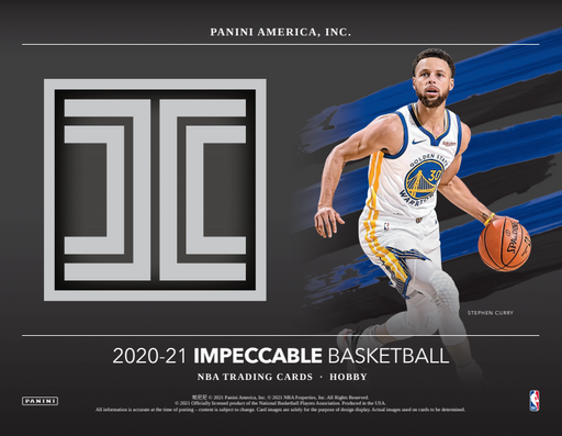 20-21 Impeccable 1-Box Break #2778 (Win Hornets) - Team Based - Release Day-Cherry Collectables