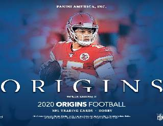 2020 Origins NFL 8-Box Half Case Break #0745 - Random Team - Sep 30 (Night)-Cherry Collectables
